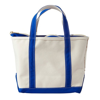 Boat and Tote Bag, Zip-Top