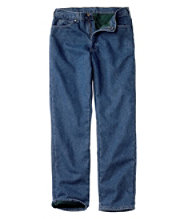 Bean's Double L Jeans, Fleece-Lined Classic Fit