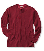 Two-Layer River Driver's Shirt, Henley