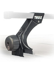 Thule 300 Rain Gutter Foot Pack, Low