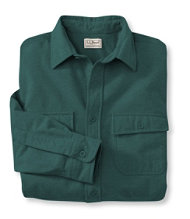 Bean's Chamois Cloth Shirt, Traditional Fit