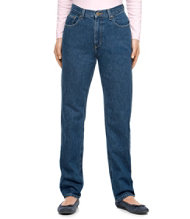 Women's Double L Jeans, Traditional
