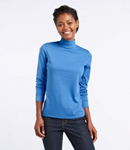Bean's Interlock Mock-Turtleneck