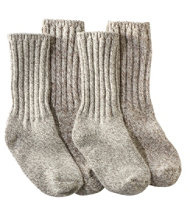 "Merino Wool Ragg Sock, 10"" Two-Pack"