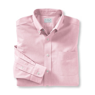 Men's Wrinkle-Resistant Classic Oxford Cloth Shirt