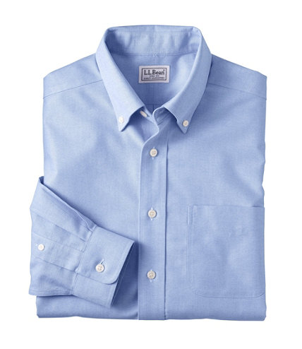 Men 39 S Wrinkle Free Classic Oxford Cloth Shirt Traditional