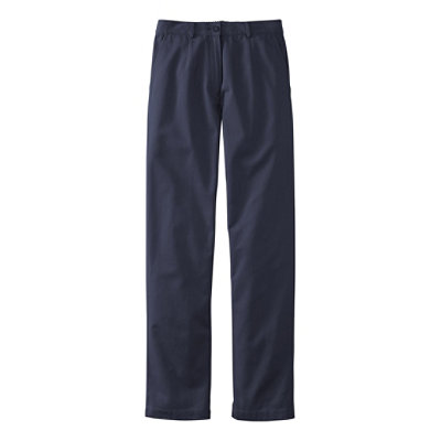 Bayside Twill Pants, Original Fit Plain Front Comfort Waist