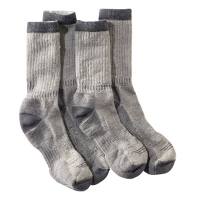 Men's Cresta Hiking Socks, Lightweight, Two-Pack