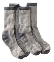 Men's Cresta Hiking Socks, Midweight Two-Pack