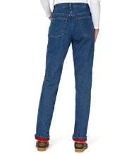 Double L Jeans, Fleece-Lined