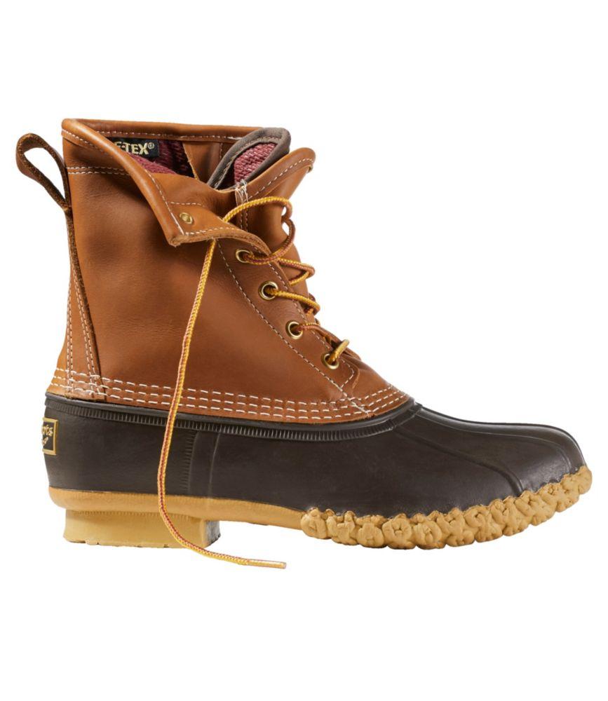 """L.L.Bean Bean Boots, 8"""" Gore-Tex/Thinsulate"""