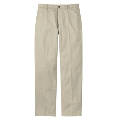 Double L� Chinos, Classic Fit Plain Front