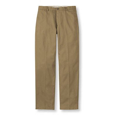 Double L� Chinos, Natural Fit Plain Front