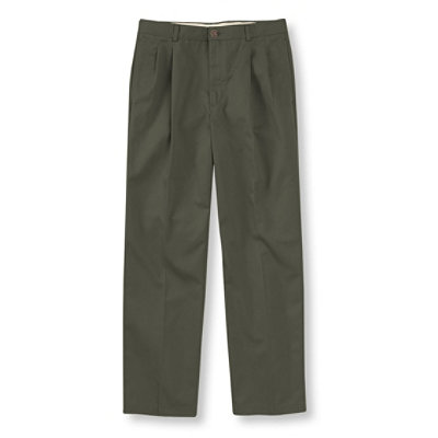 Double L� Chinos, Natural Fit Pleated