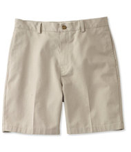Wrinkle-Resistant Double L Chino Shorts, Natural Fit Plain Front 8