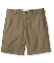 Wrinkle-Resistant Double L Chino Shorts, Natural Fit Plain Front 6