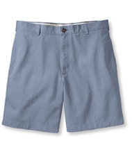 "Wrinkle-Resistant Double L� Chino Shorts, Plain Front 6"" Inseam"