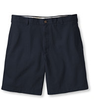 "Wrinkle-Resistant Double L� Chino Shorts, Natural Fit Plain Front 6"" Inseam"