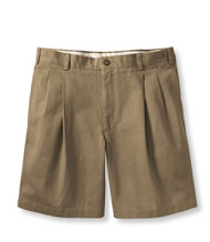 Double L Chino Shorts, Pleated 8