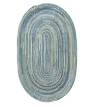 Chenille Braided Rug, Oval