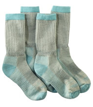 Women's Cresta Hiking Socks, Lightweight Two-Pack
