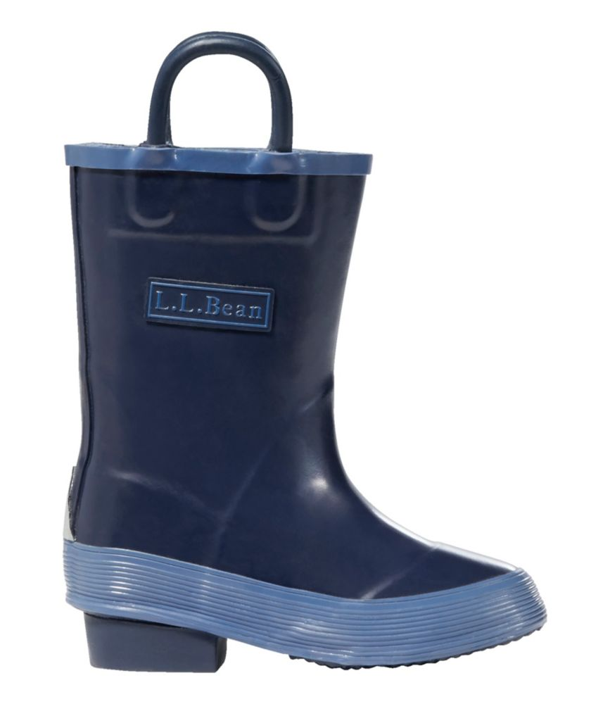 photo: L.L.Bean Boys' Puddle Stompers Rain Boots