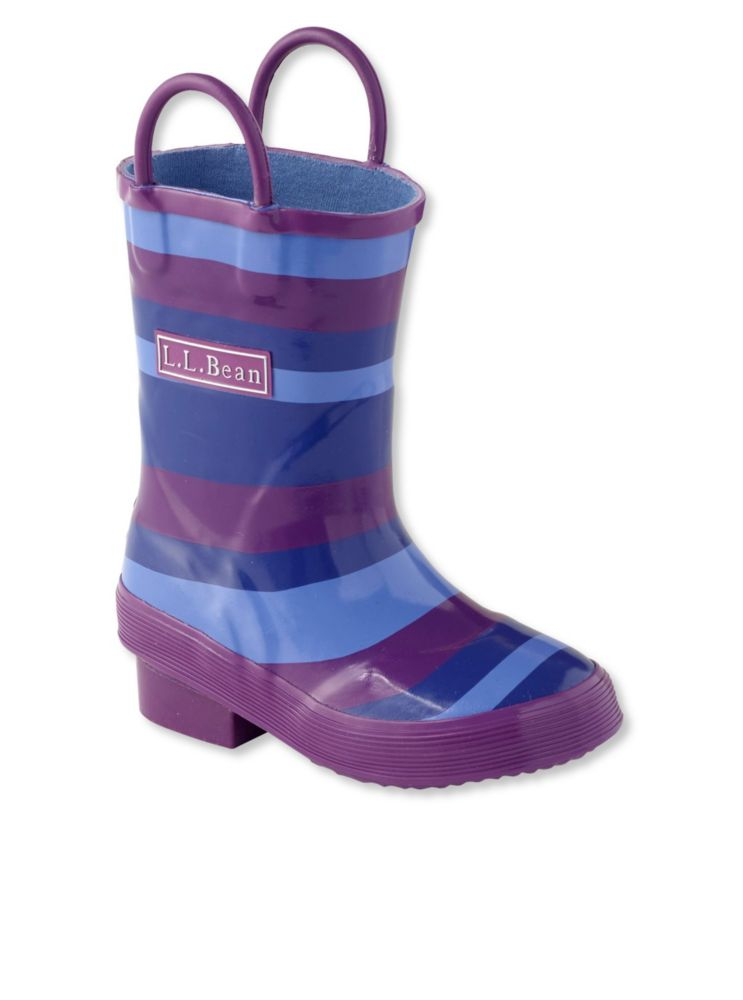 photo: L.L.Bean Girls' Puddle Stompers Rain Boots