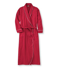 Women's Pima Cotton Flannel Robe