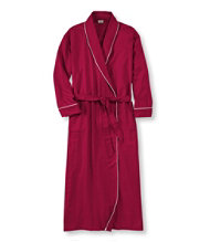 Pima Flannel Robe