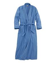 Pima Cotton Flannel Robe
