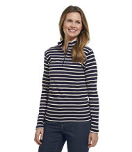 French Sailor's Shirt, Quarter-Zip Pullover