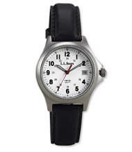 Men's Classic Field Watch, Stainless Steel