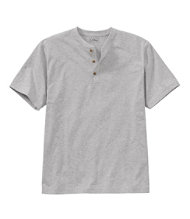 Carefree Unshrinkable Tee,Traditional Fit Henley