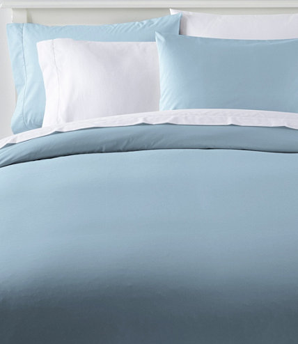 280 thread count pima cotton percale comforter cover