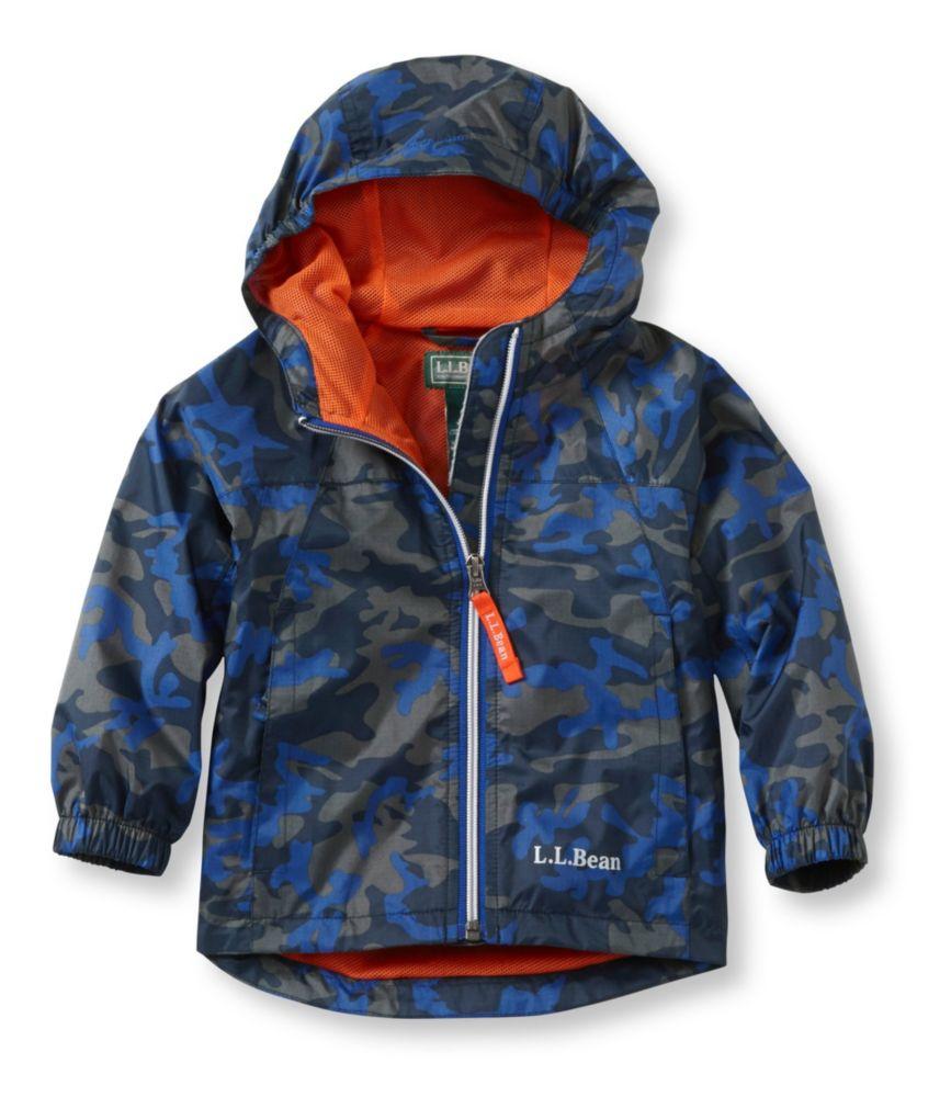 L.L.Bean Discovery Rain Jacket Print