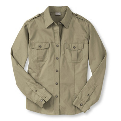 Women's Cotton Poplin Field Shirt