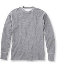 Two-Layer River Driver's Shirt, Crewneck