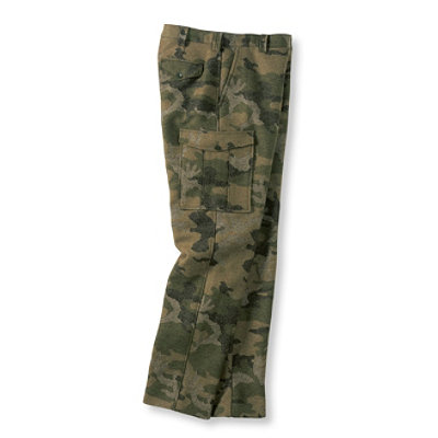 Maine Guide Six-Pocket Wool Pants with WINDSTOPPER, Camo