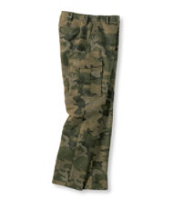 Men's Maine Guide Six-Pocket Wool Pants with Windstopper, Camo