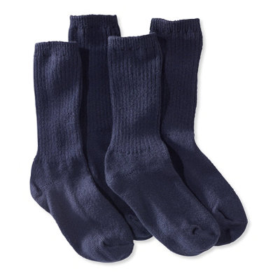 Men's Cotton Crew Socks, Two-Pack