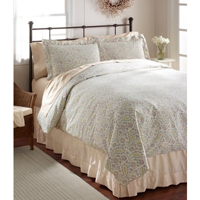 Sateen 340-Thread-Count Comforter Cover, Floral