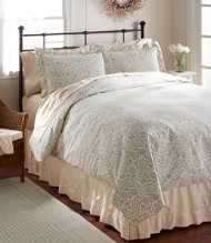 Sateen 340-Thread-Count Sham, Floral