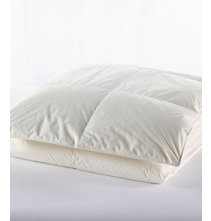 Baffle-Box Stitch Down Comforter, Warm