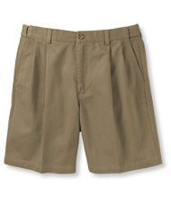 Double L Chino Shorts, Pleated Hidden Comfort 6