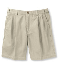Double L Chino Shorts, Natural Fit Pleated Hidden Comfort 8