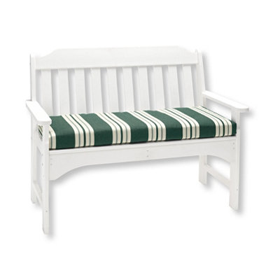 Casco Bay Cushion for All-Weather Bench, Stripe