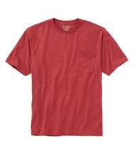Carefree Unshrinkable T-Shirt with Pocket
