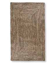 All-Weather Braided Rugs, Concentric Pattern