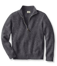 Bean's Classic Ragg Wool Sweater, Full-Zip