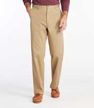 Double L Chinos, Natural Fit Hidden Comfort Plain Front
